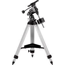 montura ecuatorial para telescopio