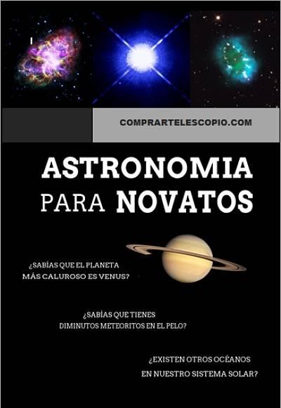 manual astrónomo aficionado PDF Astronomía para Novatos