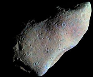 primer asteroide fotografiado gaspra951