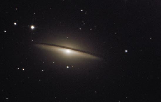astrofotografia galaxia sombrero