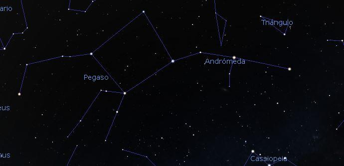 constelacion pegaso andromeda