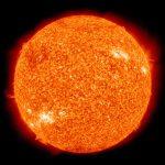 foto real del sol