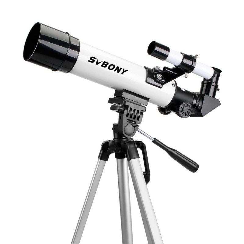 analisis svbony SV35 Telescopio Refractor
