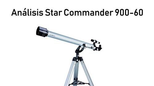 análisis Telescopio refractor Star Commander 900-60 de Seben