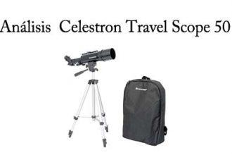 analisis celestron travel scope 50