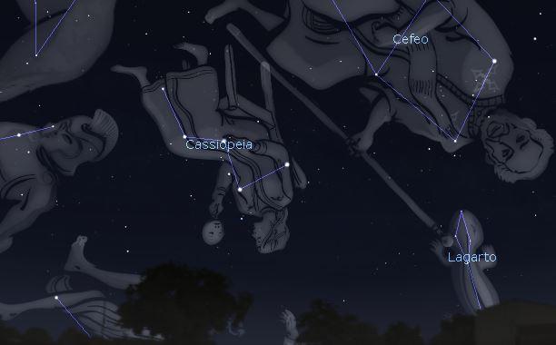 constelacion casiopea