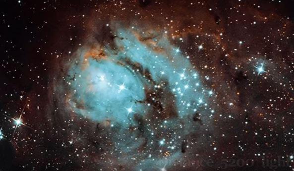 nebulosa del lago omegon 200 1000