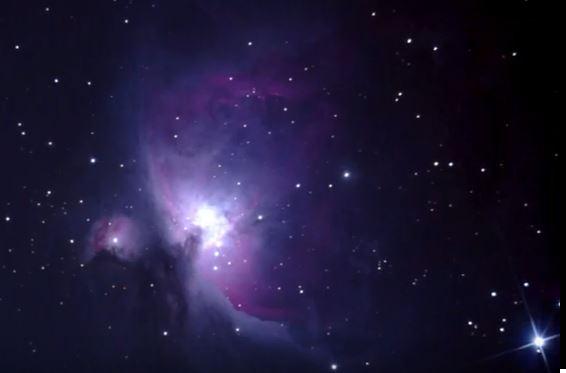 nebulosa de orion a través de un orion 150/750