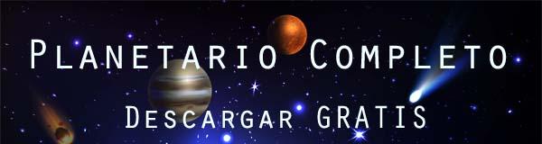 planetario astronomia de regalo